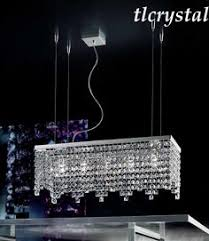 Rectangular Chandelier With Crystals Maya Rugiano Classic Crystal Rugiano Classic Crystal Swarowski