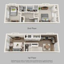 st james crossing townhome floor plan 2 town homes pinterest