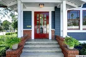 blue house white trim gray house white trim blue door plantas site