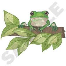 tree frog designs for embroidery machines embroiderydesigns com