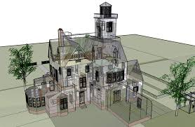 Victorian House Blueprints Xray Back Of House Curb Appeal Pinterest Practical Magic