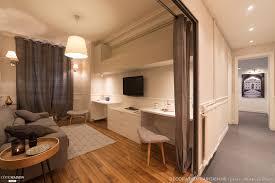 chambre parisienne nouvel espace salon et chambre canal martin 47m2