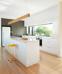 Furniture Of Kitchen White Bench Top And Cabinets Joinery Kitchen Archiblox Kitchens