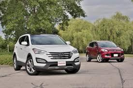 2000 hyundai santa fe mpg 2014 ford escape vs 2014 hyundai santa fe sport car reviews