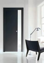 indoor door sliding wooden inside the wall tre p u0026tre più