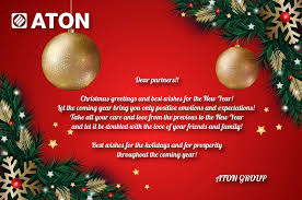 merry holidays and happy new year aton