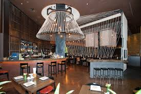 modern restaurant interior design with thai dining experience of