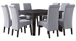 simpli home avalon 9 piece dining set u0026 reviews wayfair
