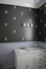 bathroom paint ideas gray gray wall paint mirror wooden frame brown wood vanity