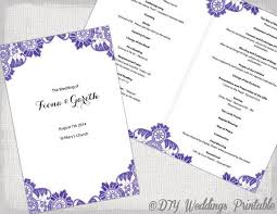word template for wedding program the 25 best catholic wedding programs ideas on