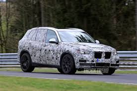 bmw jeep spied on the nürburgring 2018 bmw x5 and 2019 bmw x7
