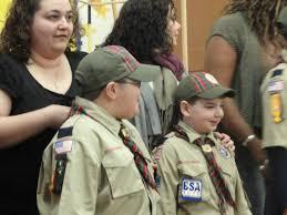 Arrow Of Light Patch Two Earn U0027arrow Of Light U0027 At Scout Ceremony Today Belleville Nj