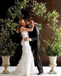 Pew Decorations For Weddings Wedding Altar And Aisle Decorations Martha Stewart Weddings