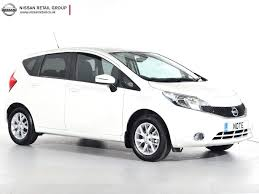 nissan note nearly new nissan for sale note dci acenta premium white