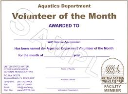 Volunteer Of The Month Certificate Template awesome collection of volunteer certificate of appreciation template