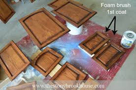 staining cabinets this is the best stain ever the stonybrook