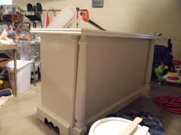 build a kitchen island out of cabinets remodelaholic from dresser to kitchen island