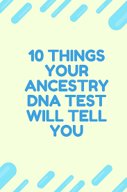 what does ancestry dna tell you who are you made of