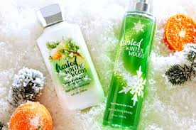 Best Bath And Body Works Shower Gel Bath Body Works Frosted Winter Woods Body Care Review Youtube