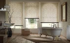 outside recess three window roller blind surrey blinds u0026 shutters