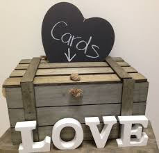 wishing box wedding new large wooden wood shabby vintage wedding wishing well