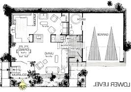 rustic earth sheltered green home solar house plan