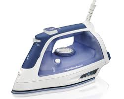 iron clothing hamilton steam iron with 3 way auto shutoff
