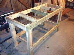 diy workbench ideas plans free woodworking and workbenches