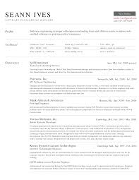 Resume Sample Junior Software Engineer by Software Engineering Manager Resume Free Resume Example And