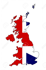 Map Of England And Scotland by Outline Map Of The United Kingdom Of England Scotland Northern