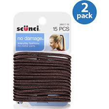 scunci hair ties buy scunci no damage hair ties black 30 count in cheap price on