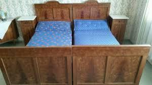 antikes schlafzimmer antikes schlafzimmer bett schrank vintage massivholz möbel in