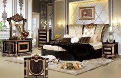 Antique Finish Bedroom Furniture Vintage Ethan Allen Bedroom Furniture Curved Brown High Gloss