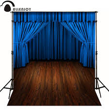 cabinet curtains for sale allenjoy photographic background blue curtain stage floor drama