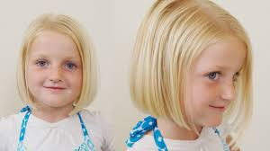 3year old straight fine haircut how to cut little girls hair basic bob haircut short