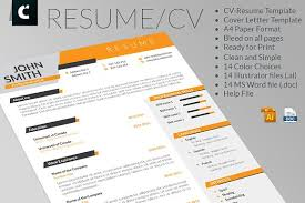 Example Cover Letter Resume by Dynamic Cv Resume And Cover Letter Resume Templates Creative