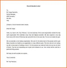 5 donation letter examples adjustment letter