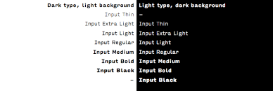 font bureau fonts input from the font bureau subtraction com