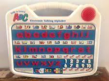 vtech write u0026 learn letter book electronic talking alphabet abc