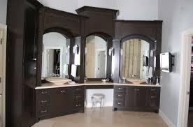 bathroom cabinets custom made bathroom cabinets with black color
