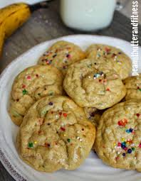 birthday cake protein cookies peanut butter fitness