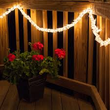 contemporary warm led garland lights led garland lights warm to