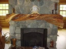 Unique And Beautiful Stone Fireplace by Unique Fireplace Mantels Log Mantels Twisted Juniper Bedroom