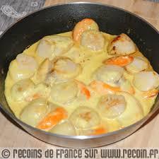 cuisiner st jacques recette noix de jacques au curry recette recette noix