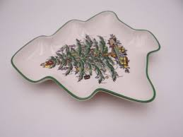 spode tree made in small tree shaped serving