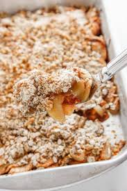 apple pear crumble oatmeal apple pear crisp the brooklyn cook