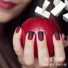 aliexpress com buy gradient nail sponges natural magic simple