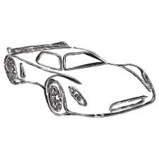 25 race car coloring pages