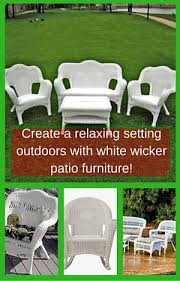 White Wicker Patio Chairs White Wicker Patio Furniture 5 Best Deals