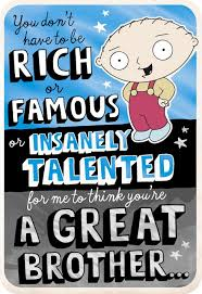 family guy family guy stewie and chris birthday card greeting cards hallmark